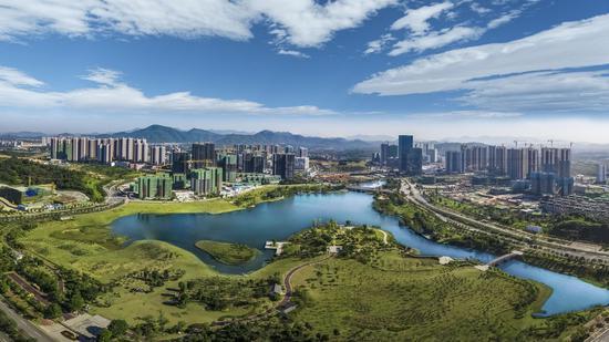 知识城打造中新国际科技创新合作示范区