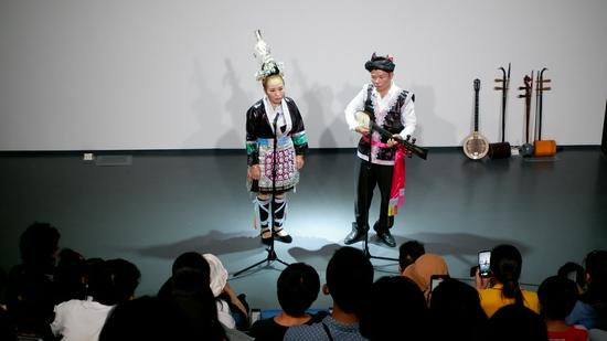 金利和谐侗戏班十一演出在广东时代美术馆上演