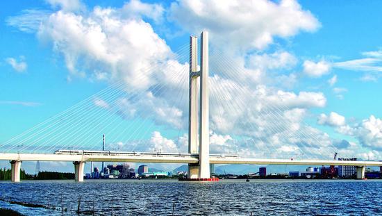江湛铁路沿途特大桥风光