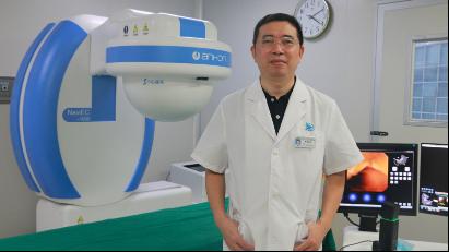 清远市医学会消化分会主任委员、清远市人民医院消化科主任彭铁立