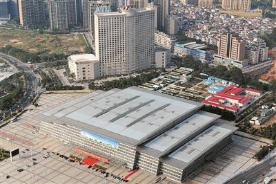 东莞国际会展中心将改造成市民服务中心。 广州日报全媒体记者卢政摄