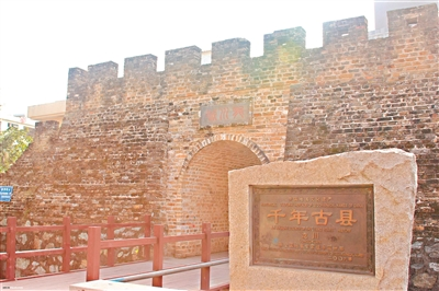 千年古城龙川佗城一角