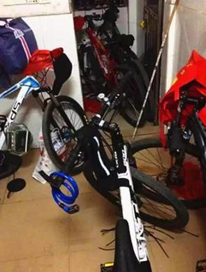 男子连偷9辆上千元自行车被抓