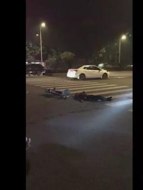 揭阳男子开宝马 一夜惹出5起车祸