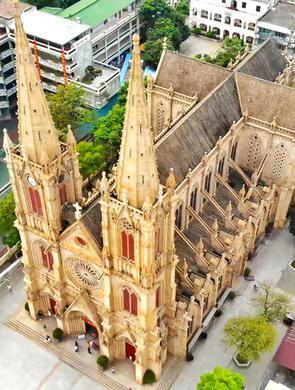 广州这座教堂与巴黎圣母院齐名