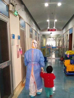 广州隔离病房里的代班妈妈
