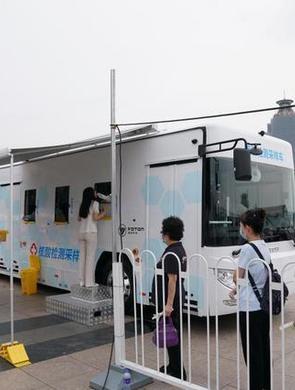 北京核酸检测采样车投用