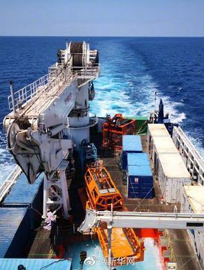 中國海牛Ⅱ號創鉆探深度新世界紀錄