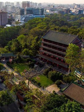 航拍廣州:廣州的春天讓人心曠神怡