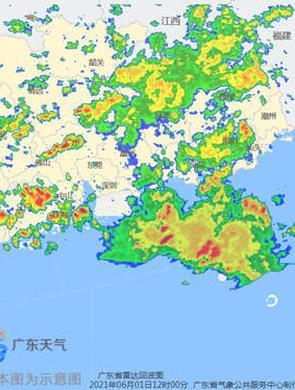未来五天广东强降水持续