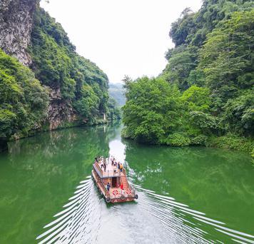 重庆渝帆:湟川三峡兼具险与秀
