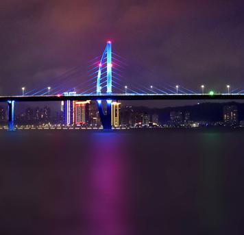 @缘美色影:港珠澳大桥和珠澳璀璨夜色抢先看