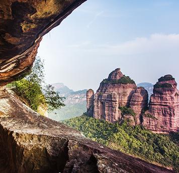 @琰棱:中国最美丹霞地貌之首静候日出