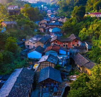 泡鱼儿:隐在陕南深山的百年老街