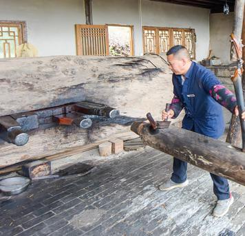 重庆渝帆:大山深处的古法榨油