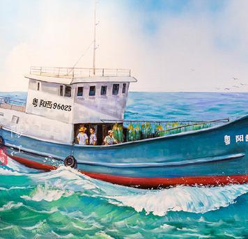 琰棱:背靠海洋致富的阳江渔村
