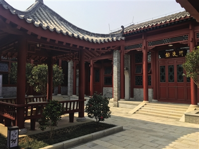 南海会馆内部景观,京派建筑风格浓厚