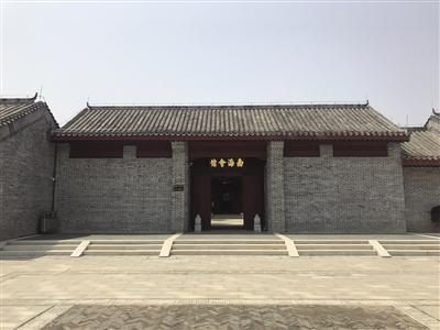 正在调试阶段的康园,将按1:1呈现北京南海会馆的建筑,同时全方位展示康有为的生平和个人思想。