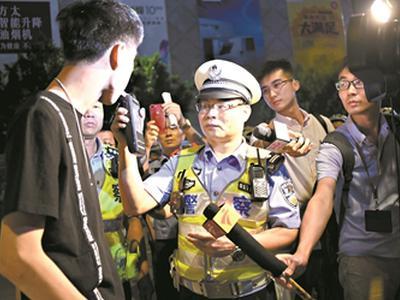 中心城区新增5条0酒驾街区 世界杯期间广州严查酒驾