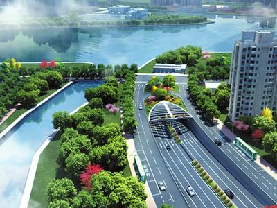 广州如意坊交通大动脉工程开工 预计2022年建成