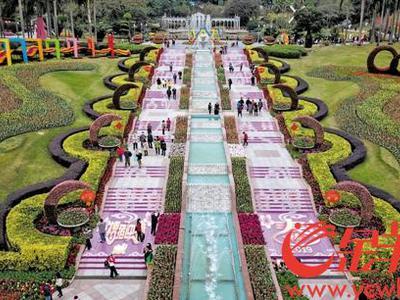 广州将打造全国第一城市花园
