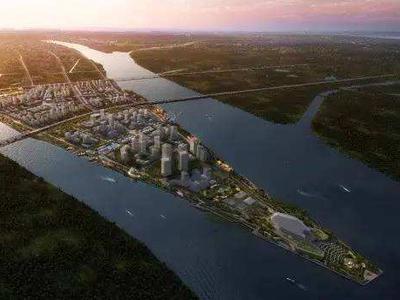 广州南沙明珠湾六大总部项目开工 总投资134亿元