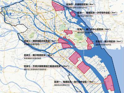 广州南沙超级枢纽旁这样规划