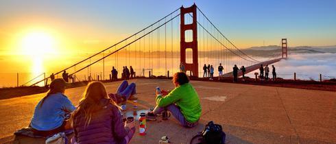 美国金门大桥隐藏的小众绝美景色