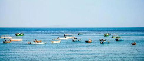 北海涠洲岛与大海来一场约会