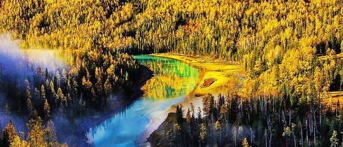 最美的秋天在北疆