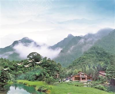 南昆山高山别墅 资料图片