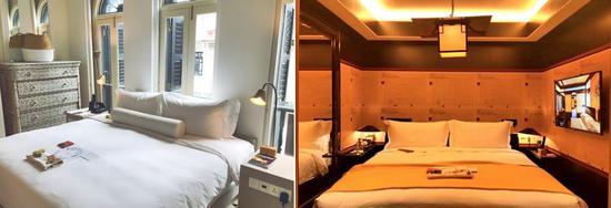 六善酒店各种房型:中式、欧式