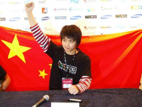 中国电竞首个WCG冠军SKY李晓峰