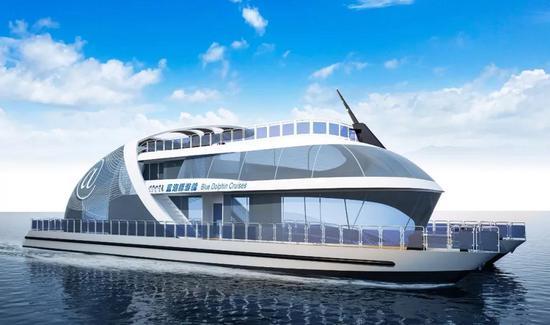 江龙船艇开工建造粤港澳大湾区首艘入级纯电动客船