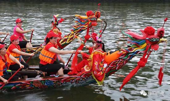 有一种热爱叫揭阳赛龙舟 距今已有400多年历史