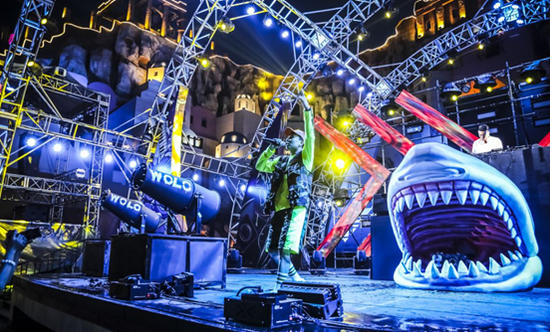 欢乐谷暑期电音狂欢节