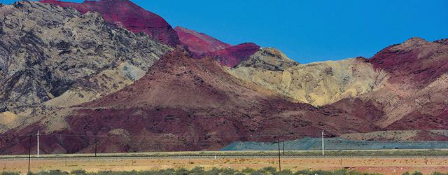 西北部戈壁荒漠