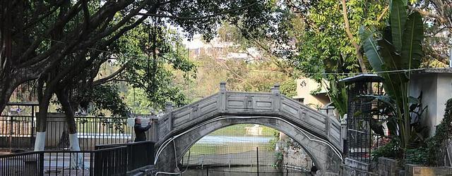 汕头中山公园有个玉鉴湖
