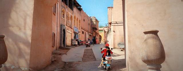 """""""迷宫式""""古城:喀什噶尔"""