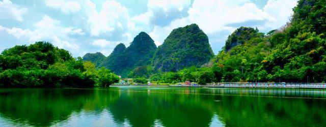 藏在粤西山区的宁静小城