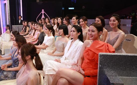 历届香港小姐全力支持及参与港姐盛事