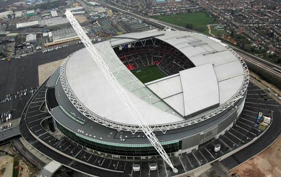 温布利大球场,热刺主场,英国足球地标