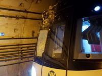 深圳地铁11号隧道遭打桩机打穿 撞断桩头受损严重