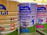 法国问题奶粉影响80多国 召回1200万箱