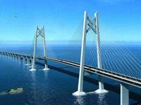 港珠澳大桥口岸将24小时通关 口岸将用三地三检模式