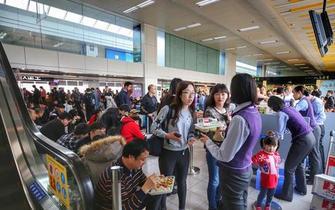 珠海机场旅客吞吐量122.7万人