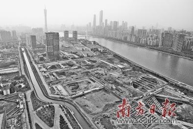 海珠区将加快琶洲互联网创新集聚区18个落地项目建设。符超军 摄