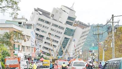 钟玮怡抵达花莲次日拍下震后的场景。(受访者提供)