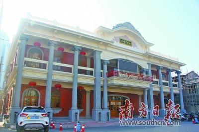 完成修缮的老妈宫戏台,如今已重新对外开放。
