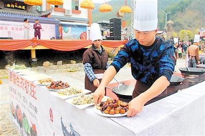 昨日开幕的从化国际美食节。